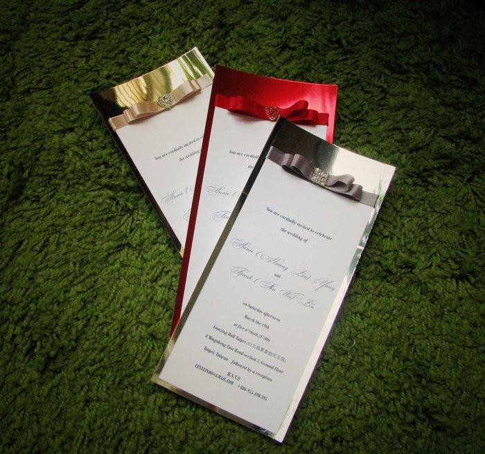 【金澤森】喜帖 歐式婚卡 客製喜帖 商務邀請卡 生日 滿月邀請卡