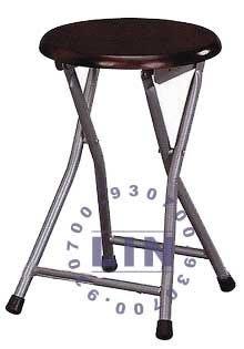 【品特優家具倉儲】R968-07吧台椅實木折凳椅洽談椅優惠價