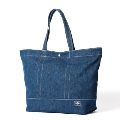 (TORRENT) 2017 HEAD PORTER 代購 DENIM TOTE BAG (XL) 牛仔托特包