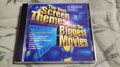 R古典(二手CD)THE BEST SCREEN THEMES FROM THE BIGGEST MOVIES~(古)