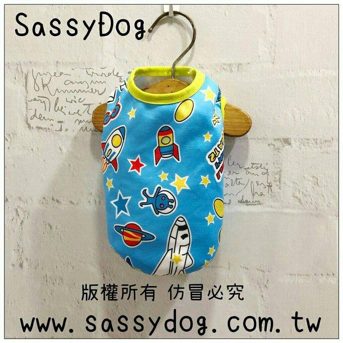 SassyDog 寵物服飾用品批發💥太空人保暖背心/保暖衣💥狗衣服批發