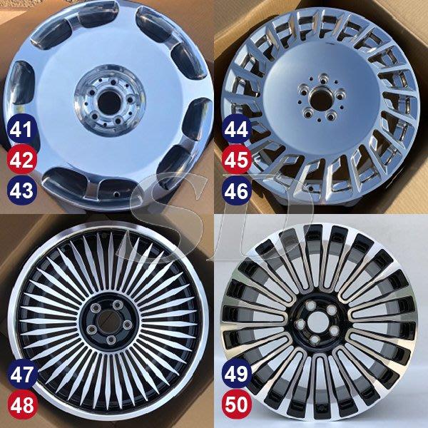 【SD祥登汽車】 For BENZ 賓士 18吋 鍛造鋁圈 44到52款 另有01款-60款可選擇
