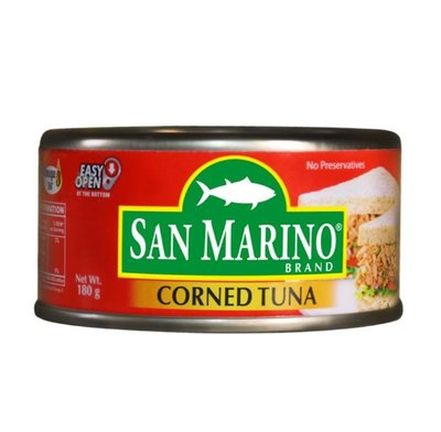 SAN MARINO CORNED TUNA 原味 鮪魚/1瓶/180g