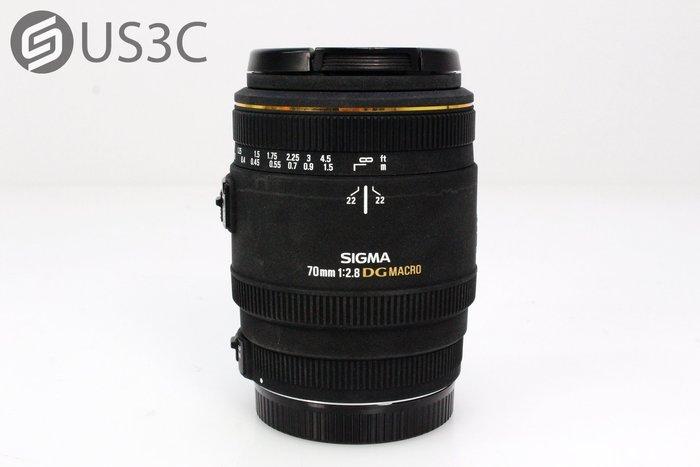 【US3C】SIGMA 70mm F2.8 EX DG MACRO For Canon 定焦鏡 微距鏡頭 恒定光圈