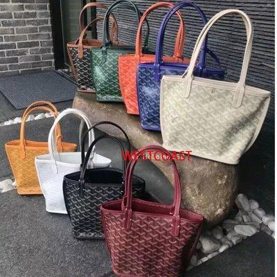 戈雅包Goyard 兩用款 女明星同款購物袋單肩子母小號手提MINI包現貨8色可選