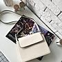 EmmaSHop艾購物-現貨正韓國連線IG款寬帶方包斜背風琴包/簡約寬肩帶風琴包