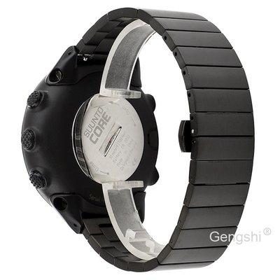 【現貨】ANCASE Suunto Core all black 不銹鋼 全黑系列 錶帶 錶鏈
