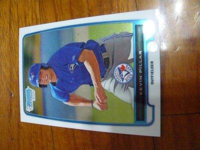 藍鳥先發外野手KEVIN PILLAR新人RC卡一張~15元起標