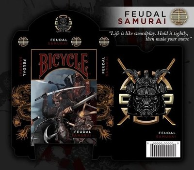 Bicycle samurai deck playing card