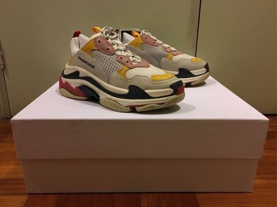 Balenciaga Triple S Yellow Pink Cream Black Red Green Blue Lego Speed Trainer