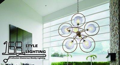 【168 Lighting】玻璃設計《時尚吊燈》GG 71013