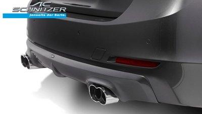 【樂駒】AC Schnitzer BMW 4er F32 F33 F36 430d 435d 排氣管 尾段 四出 鍍鉻