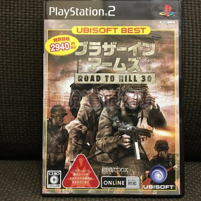 PS2 戰火回憶錄 前進30高地 Brothers in Arms Road to Hill 30 日版 30 T624