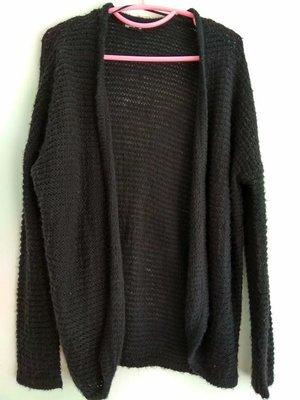 NET Ladies M 黑色針織外套(99元起標)