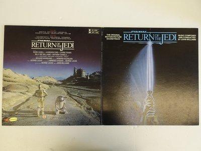 【柯南唱片】star wars 星際大戰六部曲//絕地大反攻//電影原聲帶>>台版LP
