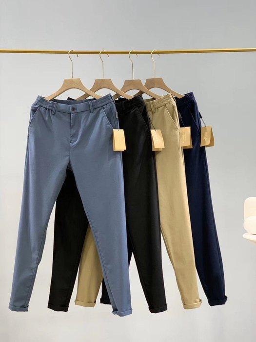 Chris精品代購 美國Outlet Burberry 巴寶莉 春夏新款 長褲 色褲 休閒商務褲 修身效果 四色任選