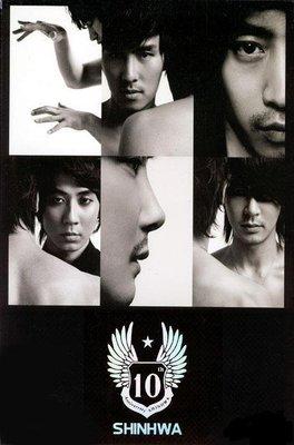 神話Shinhwa(Eric、金烔完、申彗星、李玟雨、JunJin、Andy) - 9th 黑九輯(韓國限量編號版)
