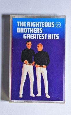 錄音帶 / 卡帶 / F2/英文/ RIGHTEOUS BROTHERS/GREATEST HITS /正義兄弟  精選/非CD非黑膠