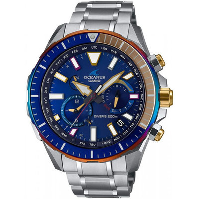 光華.瘋代購 [預購] CASIO OCEANUS OCW-P2000D-2A JF 保固三年 電波錶