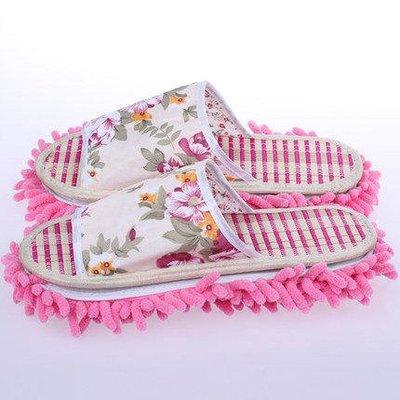 懶人用品可拆洗鞋套清潔冬地板拖鞋拖地擦地拖鞋套