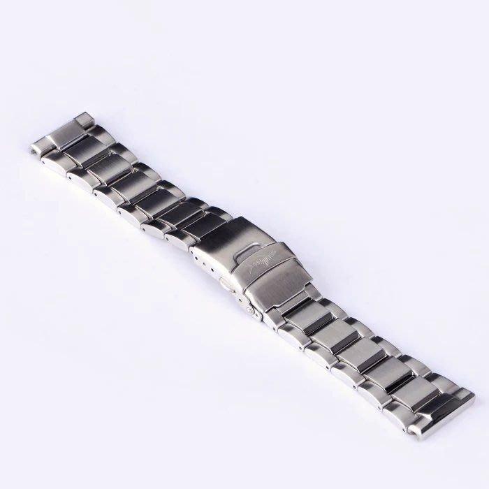 海米德專用潛水錶鋼錶帶22m(非seiko精工錶 oris豪利時)