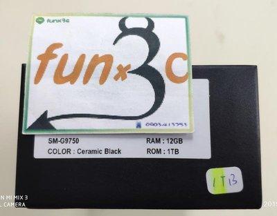 ※瘋3C※《原封代購-12G+1TB》香港版-三星 S10+ S10Plus 陶瓷 釉光 黑 4G雙卡 =經濟型=