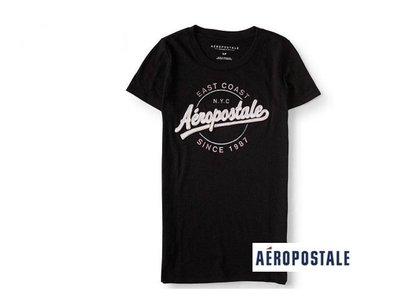 美國正品Aeropostale[Aero] 美式休閒短袖T / 藍 ~S (編號:3517 )