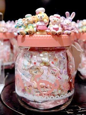 ArielWish日本東京迪士尼2020情人節暖心達菲熊Duffy雪莉玫史黛拉兔兔畫家貓曲奇安玻璃罐裝咖啡草莓拿鐵組絕版