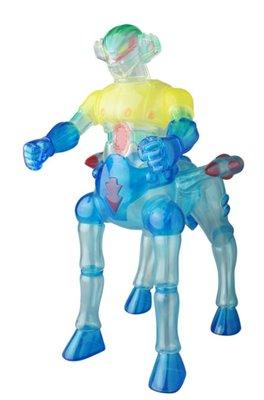 全新 Medicom Toy 透明彩色限定版 磁力鐵甲人 鋼鐵吉克 JEEG + 飛馬 鋼鐵戰馬 大膠