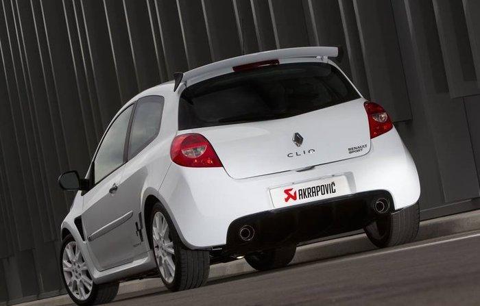 【樂駒】Akrapovic 蠍子 尾段 排氣 系統 Renault Clio III RS 200 改裝 套件 排氣管