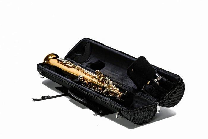 §唐川音樂§【BROPRO 高音薩克斯風圓筒箱 Soprano saxophone case】(尼龍款)