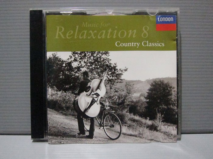 RELAXATION 8 COUNTRY CLASSICS鄉村古典 田園交響曲 牧神的午後 維也納森林的故事