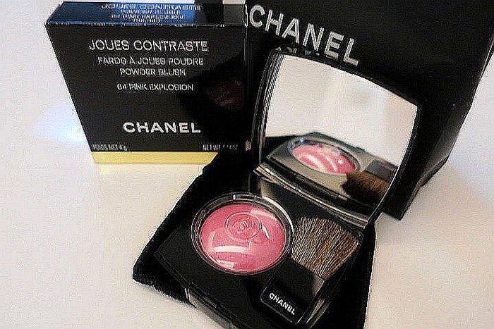 *Beauty*CHANEL粉色腮紅1 附鏡盒 刷子 WE18 18032222 全新未用 轉售