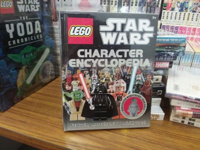 星球大戰書 star war  character encyclopedia 無lego人仔