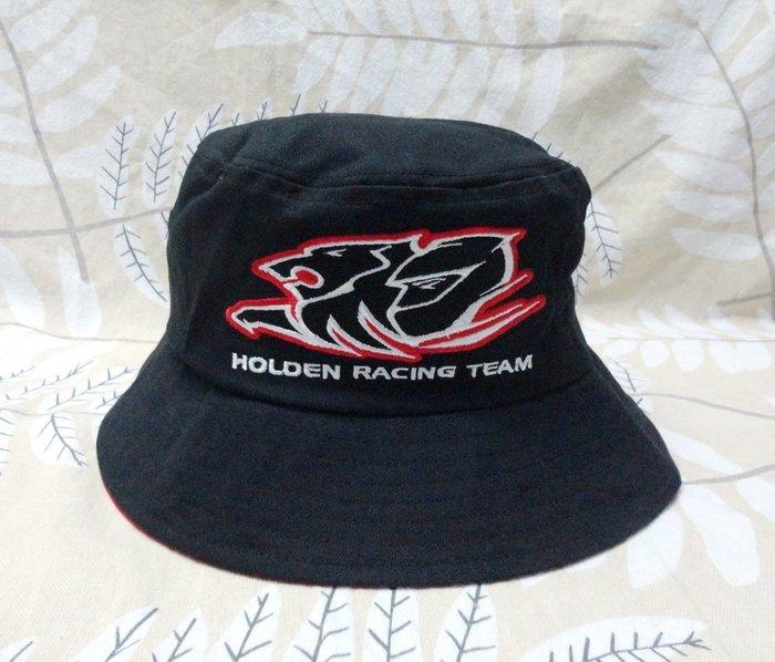 澳洲雄獅 HOLDEN 登山露營釣魚旅遊漁夫帽盆帽 57~59cm 純棉超厚實 黑色