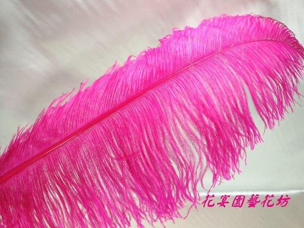 【花宴】資材系列*大鴕鳥羽毛*10色~帽飾~製作手工藝品~髮飾