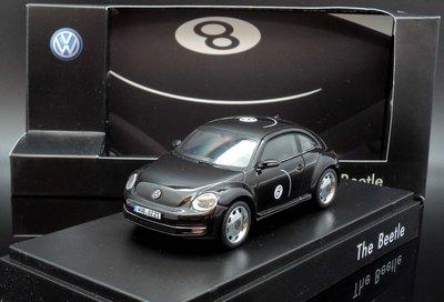 【MASH】[現貨特價]  Schuco 1/43 VW Beetle Eight Ball 2013 black