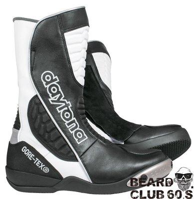 ♛大鬍子俱樂部♛ Daytona® Strive Gore-Tex 德國 手工 皮革 防水 防摔 車靴 賽車靴 W/B