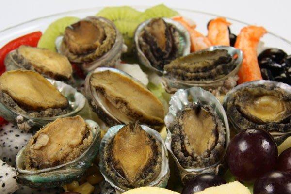 【萬象極品 】帶殼鮑魚(又稱九孔鮑)(30顆 /1000g)/1顆~味道鮮美~教你作和風鮑魚沙拉