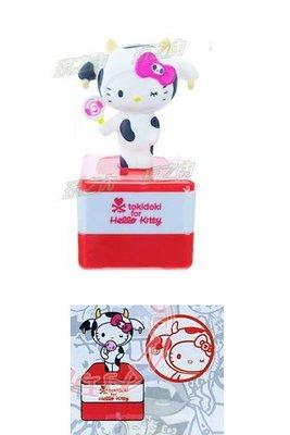 現貨出清特價👍Hello Kitty Tokidoki限定立體玩偶印章599417【玩之內】歐美限定版 三麗鷗正品