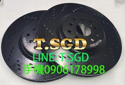 TSGD原廠尺寸- VOLVO S60/S80/XC60/XC90/V50/V60 高登 專利流星碟盤 剎車盤 煞車盤