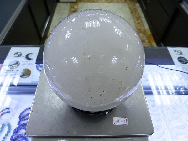 ☆寶峻鹽燈☆特價品出清~實品拍攝 白水晶球 GBS-17