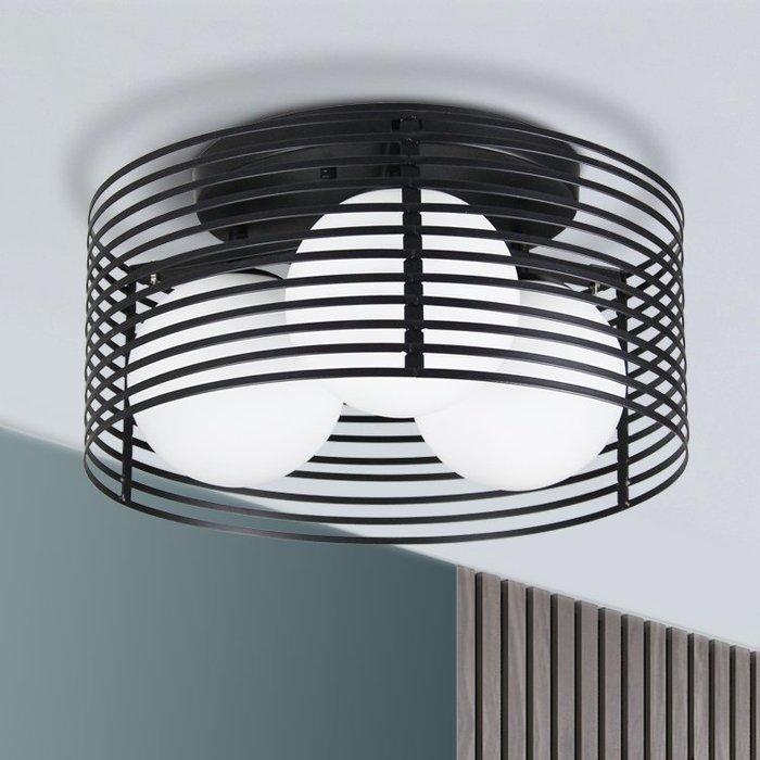 【58街】義大利設計師款式「鳥籠吸頂燈」複刻版。GZ-118