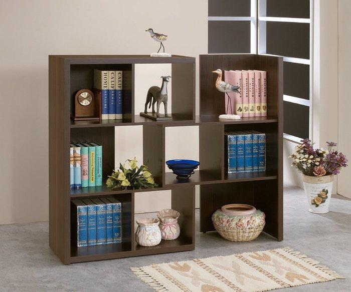 【南洋風休閒傢俱】書架 書櫃 書櫥展示櫃 收納櫃 造形櫃 置物櫃系列-胡桃2.7*4尺伸縮書櫃CY414-1