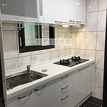 整潔白 廚櫃+櫻花三機 廚具 流理台 門市可參觀 木心桶+水晶門+韓國人造石210cm 免費到府丈量 晶潔廚具