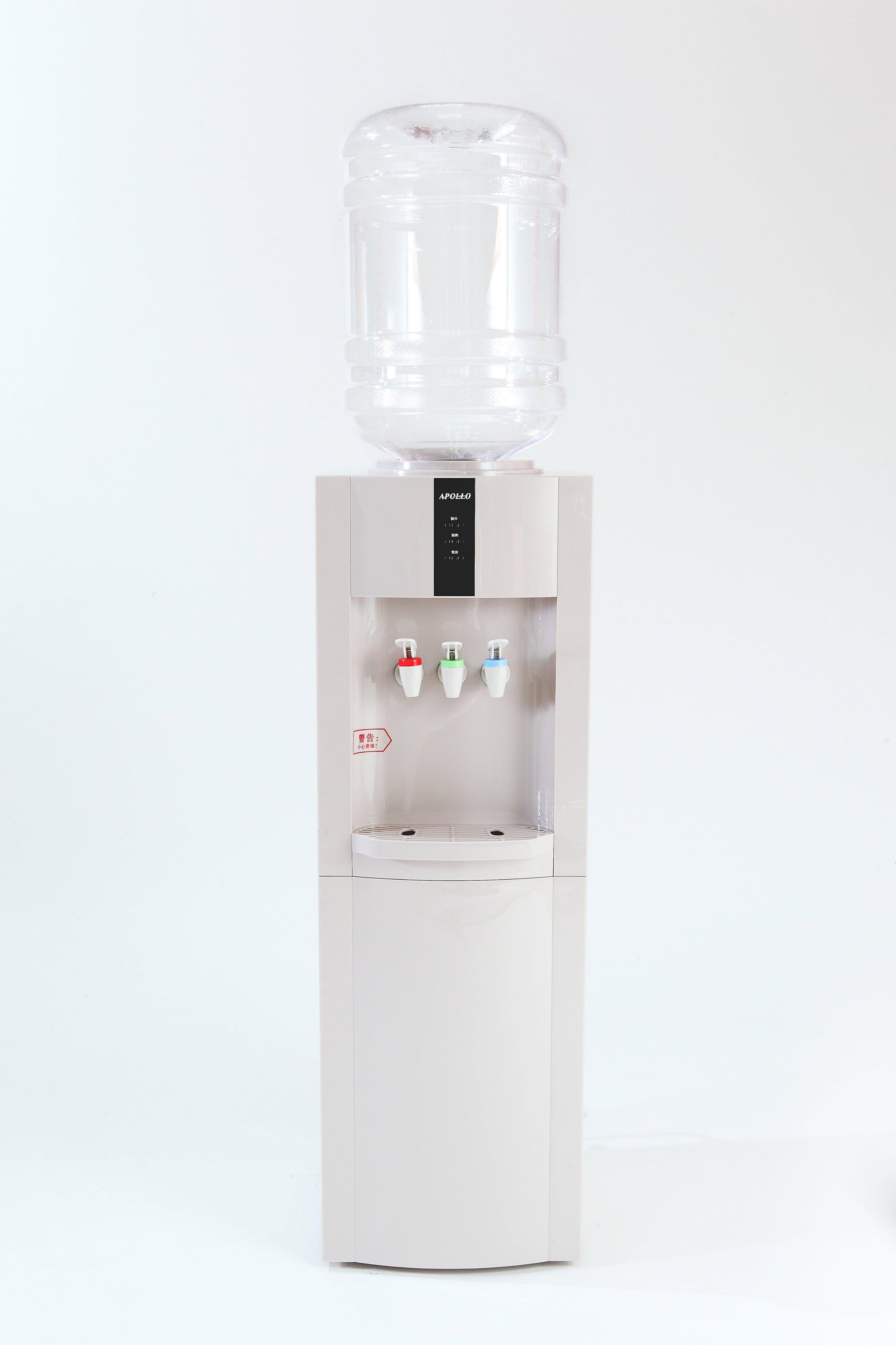 2018 最新款 APOLLO 阿波羅直立型冰溫熱桶裝水飲水機 桶裝水開飲機 高質感 W003 壓縮系列~