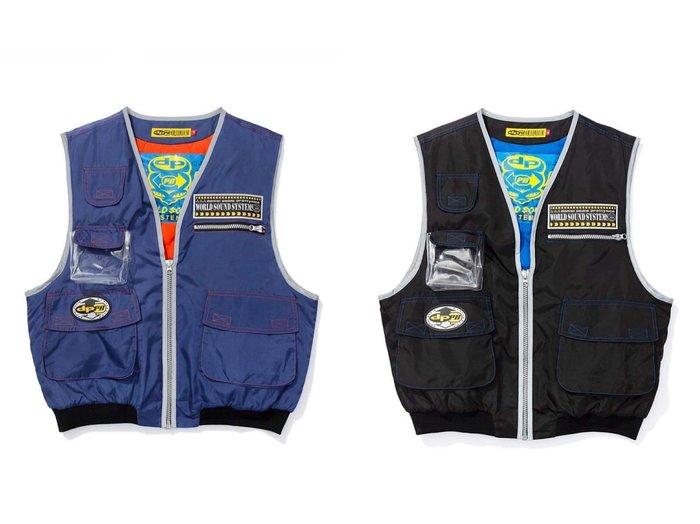 GOSPEL【DPPN-W.S.S. Vest】Blue / Black