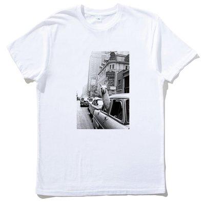 Llama Lama Car 短袖T恤 白色 羊駝 動物 羊 草泥馬 趣味 幽默 進口 亞版
