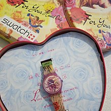 Swatch Valentine day watch 1995  Special  GR127 For Your Heart Only watch