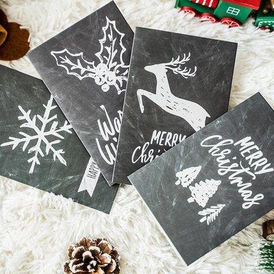 創意生日賀卡手工diy代寫祝福簡約商務感恩留言空白圣誕節小卡片#禮品盒#包裝盒#創意#禮物盒